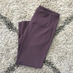 NWOT Yogalicious purple crop leggings